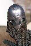 Medieval armor. Medieval Romanian Knight's Suit of Armor Stock Photo