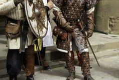 Medieval armor helmet. Ancient medieval metal armor helmet, war and champion royalty free stock image