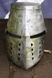 Medieval armor helmet Royalty Free Stock Photos