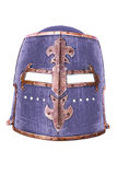Medieval armor helmet Royalty Free Stock Images