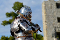 Medieval armor knight Royalty Free Stock Image