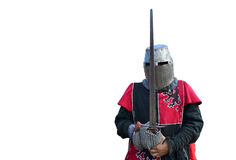 Medieval armor knight Stock Photography