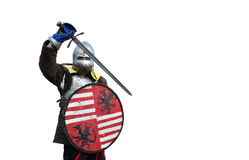 medieval armor mercenary Stock Images