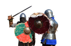medieval armor warriors Royalty Free Stock Photography