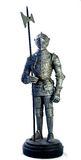 Medieval armour. Shiny medieval armour, reproduction Stock Photos