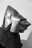 Medieval armour detail Stock Photo