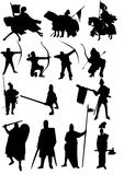Medieval army Royalty Free Stock Images