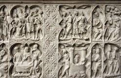 Medieval art Stock Image