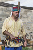 Medieval Arts Festival 2015 - Suceava Medieval Crown Fortress Royalty Free Stock Photography