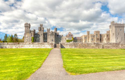 Medieval Ashford castle Stock Photos