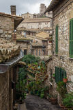 Medieval Assisi Stock Photography