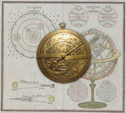 Medieval Astrolabe Royalty Free Stock Images