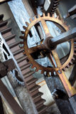 Medieval  astronomical clock Stock Photo