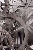 Medieval Astronomical Clock Gearing (Wheelwork) Royalty Free Stock Image