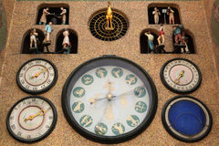 Medieval astronomical clock in Olomouc. Royalty Free Stock Photography