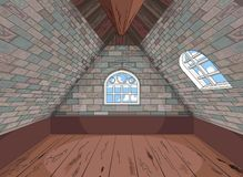 Medieval Attic stock photography