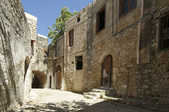 Medieval Avenue of the Knights, Rhodes Citadel Royalty Free Stock Image