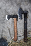 Medieval axe Royalty Free Stock Images