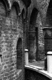 Medieval backstreet Stock Image