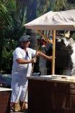 Medieval baker, Spain. Royalty Free Stock Photo