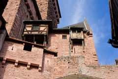 Medieval Balcony Royalty Free Stock Images