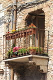 Medieval balcony Royalty Free Stock Image