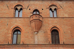 Medieval balcony Stock Photography