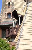 Medieval balcony Stock Image