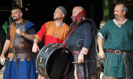 Medieval Band Stock Photography