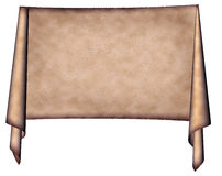 Medieval banner Stock Image