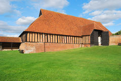 Medieval Barn Stock Photo