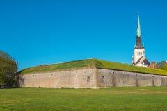 Medieval bastion. Tallinn, Estonia Royalty Free Stock Image