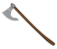 Medieval Battle Axe Stock Image