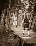 Medieval battle stock images