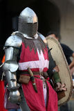 Medieval battle Stock Image