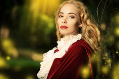 Medieval beauty Royalty Free Stock Photo