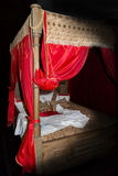 Medieval bed Stock Photo