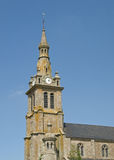 Medieval belltower. Medieval bell tower in french province Stock Photos