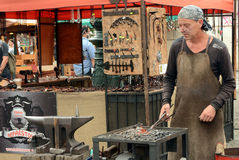 Medieval blacksmith Royalty Free Stock Photos