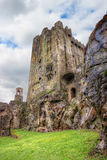 Medieval Blarney Castle in Co. Cork - Ireland. Blarney Castle  is a medieval stronghold in Blarney, near Cork, Ireland, and the River Martin Stock Photography