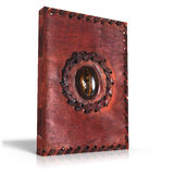 Medieval book. 3d render of an medieval book Stock Photo