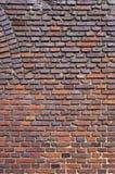Medieval brick wall texture. Stock Photos