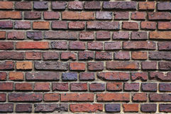 Medieval brick wall texture. Royalty Free Stock Images