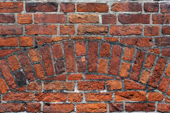 Medieval brick wall texture. Royalty Free Stock Image