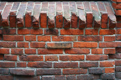 Medieval brick wall texture. Stock Images
