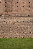 Medieval brick wall texture Stock Photo