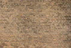 Medieval brick wall Royalty Free Stock Images