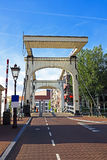 Medieval bridge in Amsterdam the Netherlands Royalty Free Stock Photography