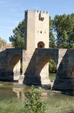 Medieval bridge Royalty Free Stock Images