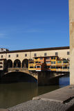 Medieval bridge Ponte Vecchio in Florence Stock Photos